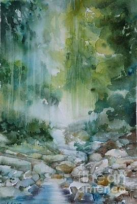 Painting - Rainforest by Donna Acheson-Juillet