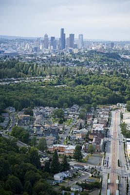 Cities Photograph - Rainier Vista Mixed Housing by Andrew Buchanan/SLP