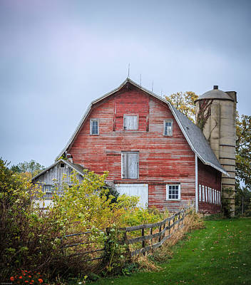 Photograph - Rainy Day On The Farm by Kathleen Scanlan