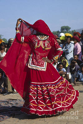 Photograph - Rajasthani Dancer - Pushkar India by Craig Lovell