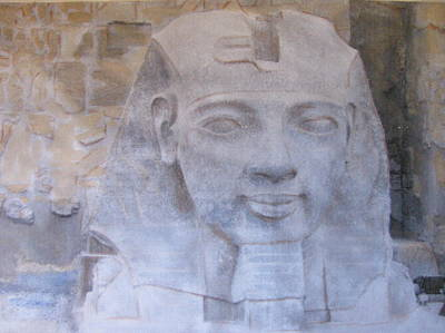 Ramses II Art Print