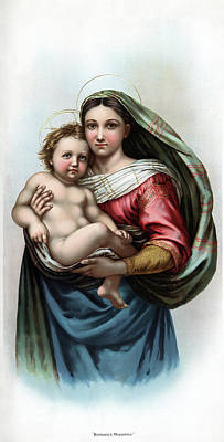 Raphael Madonna Art Print