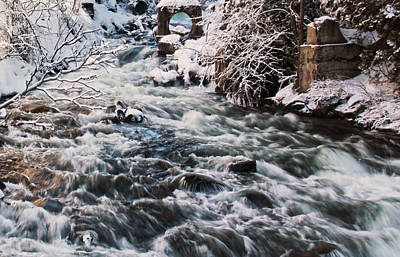 Photograph - Rapids At Bedford Mill by Jim Vance