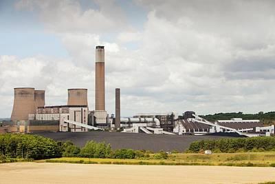 Ratcliffe On Soar Power Station Art Print