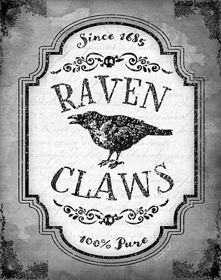Potions Painting - Raven Claws by Jennifer Pugh