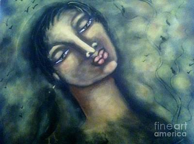 Ravenspeak Art Print by Maya Telford