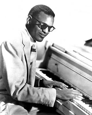 Ray Charles Art Print by Retro Images Archive