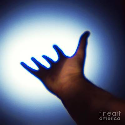 Near Death Experience Photograph - Reaching Out, Conceptual Image by Richard Kail