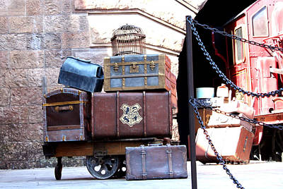 Ready For Hogwarts Art Print