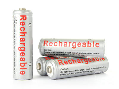 Aa Photograph - Rechargeable Aa Batteries by Jose Elias - Sofia Pereira