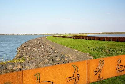 Reclaim Photograph - Reclaimed Polder Land In Holland by Ashley Cooper