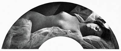 Photograph - Reclining Nude, C1900 by Granger