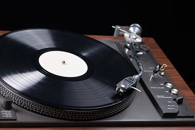 Photograph - Record Player by Marek Poplawski