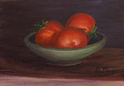 Painting - Red Beauties by Alan Mager