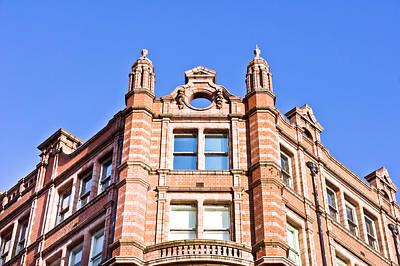 Upscale Photograph - Red Brick Building by Tom Gowanlock
