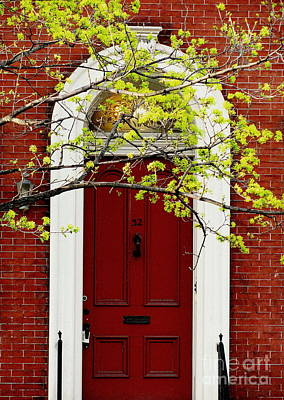 Photograph - Red Door 32 by Colleen Kammerer