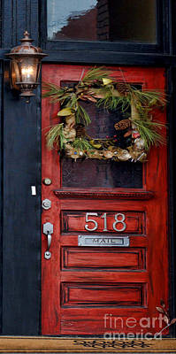 Photograph - Red Door by Liane Wright
