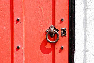 Photograph - Red Door by Tom Gowanlock
