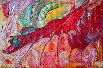 Red Dragon Original by Donna Blackhall