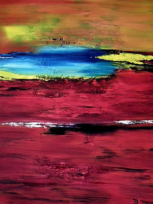 Painting - Red Earth by David Hatton