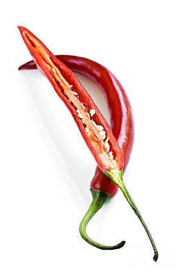 Ripe Photograph - Red Hot Chili Peppers by Elena Elisseeva