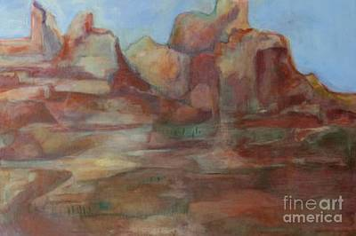 Photograph - Red Rock Canyon Dream by Diane montana Jansson