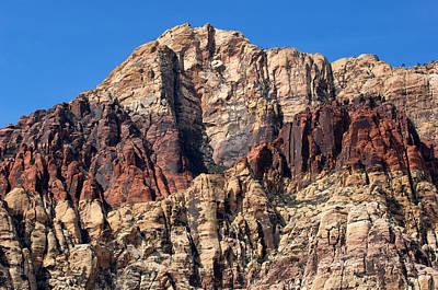 Photograph - Red Rock Canyon by John W. Bova