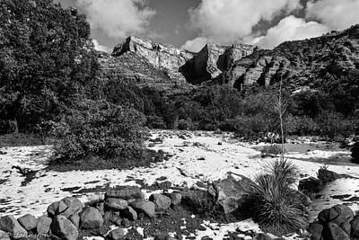 Photograph - Red Rock Secret Mountain Wilderness Sedona Arizona by Bob and Nadine Johnston