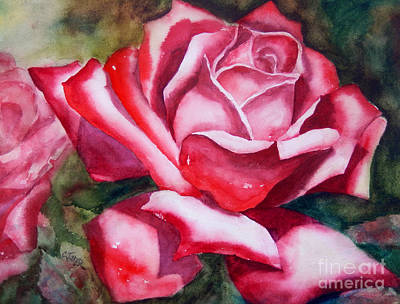 Painting - Red Rose by Carolyn Jarvis