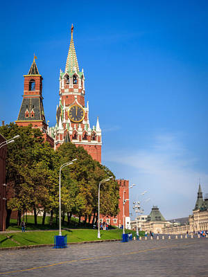 Europe Photograph - Red Square by Alexey Stiop