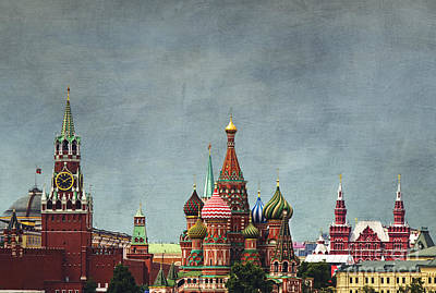 Moscow Wall Art - Photograph - Red Square Moscow by Elena Nosyreva