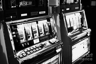 reel top dollar jackpot gaming gambling machines Las Vegas Nevada USA Art Print