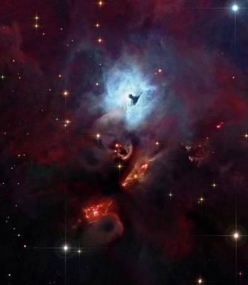 Reflection Nebula Ngc 1999 Art Print