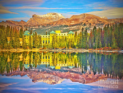 Photograph - Reflections At Lake Louise by Tara Turner
