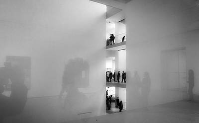 Photograph - Reflections In Moma by Frank Winters
