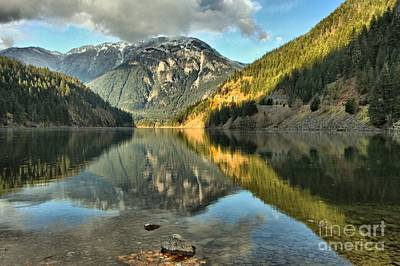 Photograph - Reflections In The Cascades by Adam Jewell
