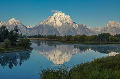 Reflections Of Mount Moran Art Print