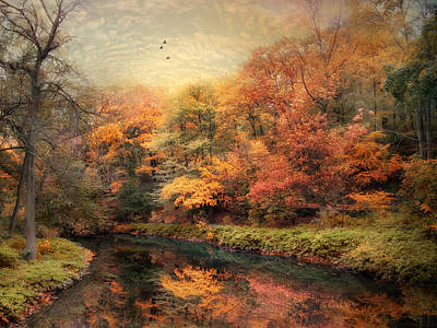Reflections Of October Art Print by Jessica Jenney