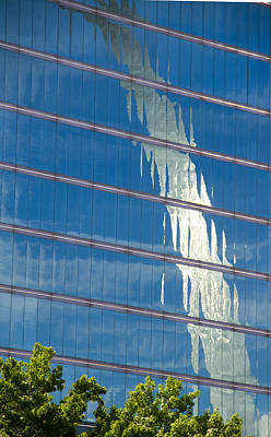 Jefferson National Expansion Memorial Photograph - Reflections Of The St Louis Arch by Garry McMichael