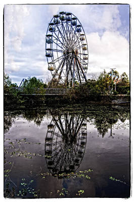 Jazzland Photograph - Reflections Of The Wheel by Andy Crawford