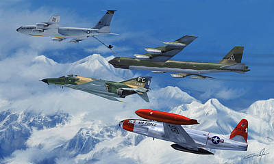 Dale Digital Art - Refuel Over Alaska by Dale Jackson