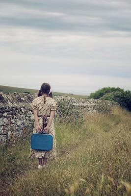 Refugee Girl Photograph - Refugee Girl by Joana Kruse