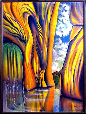 Painting - Release- I Am Born Again by Thomas Lupari