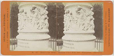 Drake Drawing - Reliefs Von Drake. Denkmal Fried. Wilh. IIi by Artokoloro