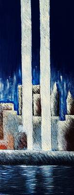 Painting - Remembering 9/11 by Fanny Diaz