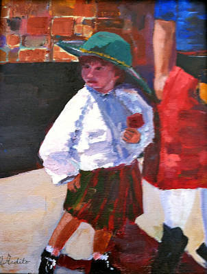 Painting - Renaissance Boy by MaryAnne Ardito