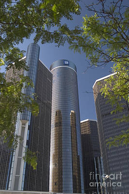 Photograph - Renaissance Center by Jim West