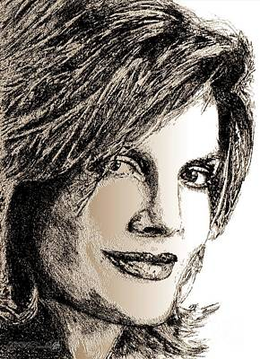 Digital Art - Rene Russo In 1999 by J McCombie