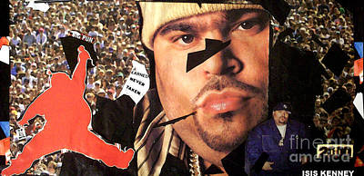 Big Pun Mixed Media - Respect Big Pun The Punisher by Isis Kenney