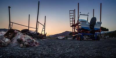 Photograph - Resting Boats by Alfio Finocchiaro